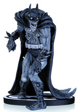 Image: Batman Black & White Statue: Zombie Batman by Neal Adams  - DC Comics