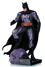 Image: Batman Metallic Mini-Statue by Jim Lee  - DC Comics