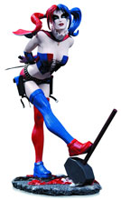 Image: DC Comics Cover Girls Statue: Harley Quinn  (2nd edition) - DC Comics