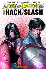 Image: Army of Darkness vs. Hack/Slash SC  - Dynamite