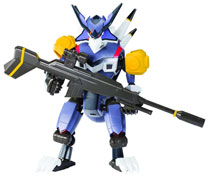 Image: Sprukits LBX Level 2 Model Kit: Hunter  -