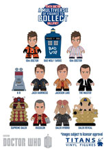 Image: Doctor Who Titans Mini-Figure Series 05 20-Piece Blind Mystery Box Display  -