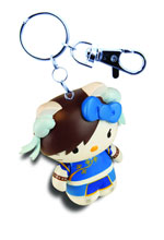 Image: Sanrio X Street Fighter Mobile Keychain Assortment  -