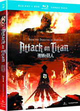 Image: Attack on Titan Part 01: Episodes 1-13 BluRay+DVD  -