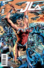 Image: Justice League of America #1 (variant cover - Wonder Woman) - DC Comics