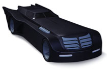 Image: Batman: The Animated Series Batmobile  - DC Comics