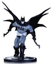 Image: Batman Black & White Statue: Batman by Carlos D'Anda  - DC Comics