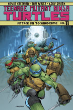 Image: Teenage Mutant Ninja Turtles Vol. 11: Attack on Technodrome SC  - IDW Publishing