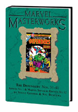 Image: Marvel Masterworks Vol. 224: The Defenders Nos. 31-41, Annual No. 1 HC  - Marvel Comics