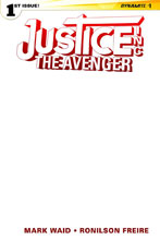 Image: Justice, Inc.: The Avenger #1 (variant cover - Blank Authentix) - Dynamite