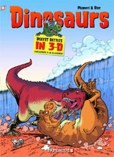 Image: Dinosaurs in 3-D HC  - Papercutz