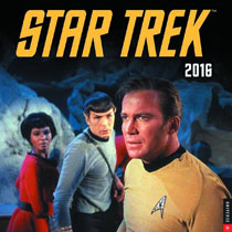 Image: Star Trek: The Original Series 2016 Wall Calendar  -