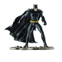 Image: DC PVC Figurine: Batman Fighting  -