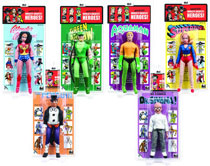 Image: DC World's Greatest Her 8-inch Retro Action Figure Series 2 Assortment  -