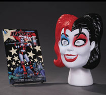 Image: Harley Quinn Vol. 01: Hot in the City Book and Mask Set  - DC Comics