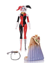 Image: DC Comics Designer Series Action Figure: Amanda Conner 02 - Spacesuit Harley Quinn  - DC Comics