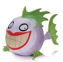 Image: DC Comics Super Pets Plush: Joker Fish  - DC Comics