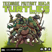 Image: Teenage Mutant Ninja Turtles: Shadows of the Past Board Game  - IDW Publishing