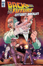 Image: Back to the Future: Citizen Brown #2  [2016] - IDW Publishing