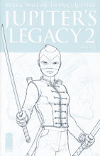 Image: Jupiter's Legacy 2 #1 (cover E - Quitely Sketch)  [2016] - Image Comics