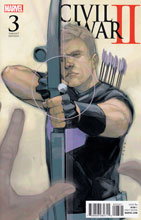 Image: Civil War II #3 (Noto Hawkeye variant cover)  [2016] - Marvel Comics