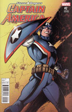 Image: Captain America: Steve Rogers #2 (variant cover - Bagley)  [2016] - Marvel Comics