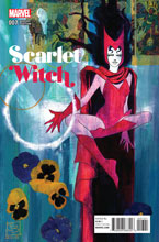 Image: Scarlet Witch #7 (variant cover - Brigman Classic)  [2016] - Marvel Comics