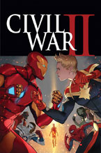 Image: Civil War II #1 by Djurdjevic Poster  - Marvel Comics