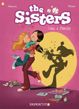 Image: Sisters Vol. 01: Like a Family HC  - Papercutz
