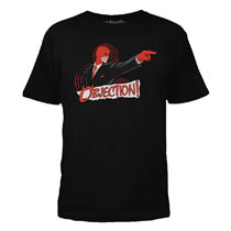 Image: Daredevil T-Shirt: Objection [Black]  (M) - Mighty Fine