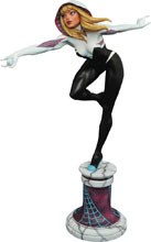 Image: Marvel Premier Collection Resin Statue: Spider-Gwen  - Diamond Select Toys LLC