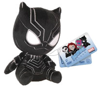Image: Captain America 3 Mopeez Plush Figure: Black Panther  - Funko