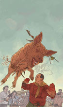 Image: Shaolin Cowboy: Who'll Stop the Reign #3 - Dark Horse Comics