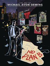 Image: No Plan B: The Art of Michael Avon Oeming HC  - Dark Horse Comics