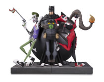 Image: DC Gallery Bookends: Joker & Harley Quinn  - DC Comics
