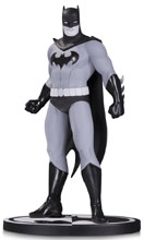 Image: Batman Black & White Statue: Batman by Amanda Conner  - DC Comics