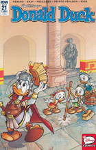 Image: Donald Duck #21 (incentive cover - Massimo Fecchi) (10-copy) - IDW Publishing