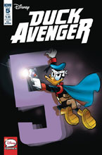 Image: Duck Avenger #5 (subscription cover - Marco Gervasio) - IDW Publishing