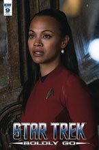 Image: Star Trek: Boldly Go #9 (photo incentive cover - 00931) (10-copy)  [2017] - IDW Publishing