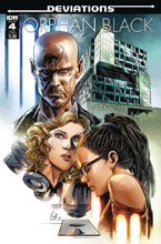 Image: Orphan Black: Deviations #4 (subscription cover - Fico Ossio) - IDW Publishing