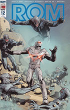Image: Rom #12 (incentive cover - Raffaele Ienco) (10-copy) - IDW Publishing
