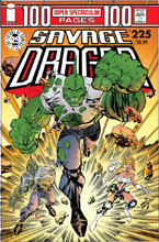 Image: Savage Dragon #225 (25th Anniversary cover A - Larsen) - Image Comics