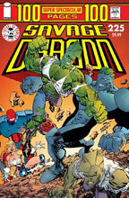 Image: Savage Dragon #225 (25th Anniversary cover C - Larsen) - Image Comics