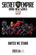 Image: Secret Empire: Brave New World #1 (Cassaday variant cover - 00121) - Marvel Comics