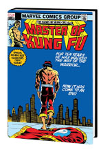 Image: Shang-Chi: Master of Kung Fu Omnibus Vol. 04 HC  (variant DM cover - Wilson) - Marvel Comics