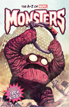 Image: Monster ABCs HC  - Marvel Comics
