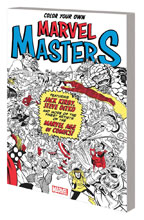 Image: Color Your Own Marvel Masters SC  - Marvel Comics