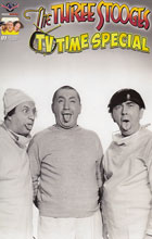 Image: Three Stooges: TV Time Special  (incentive cover – B&W Photo) (3-copy) - American Mythology Productions