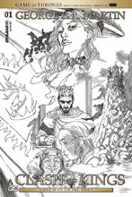 Image: George R. R. Martin's A Clash of Kings #1 (cover E incentive - Mike S. Miller) (10-copy) - Dynamite