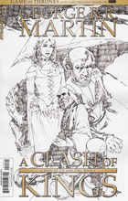 Image: George R. R. Martin's A Clash of Kings #1 (Mel Rubi b&w incentive cover - 01061) (20-copy) - Dynamite
